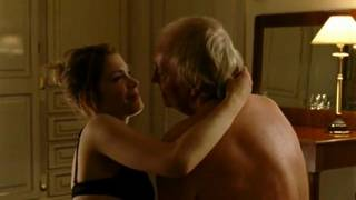 20 year old girl fucks with grandpa - Sex scene from movie.