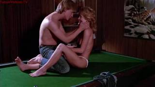 Hot blodne MILF cheating with young guy - Nude Vintage scene