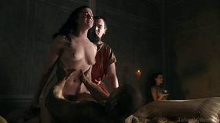 Jessica Smith - Sex scene from Spartacus blood and sand