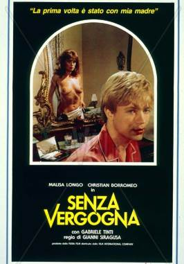 Senza vergogna [1986] - Italian mature woman/boy drama