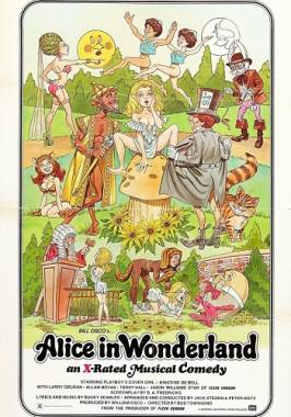 Alice in Wonderland (1976) - comedy with incest and real vaginal penetration scenes.
