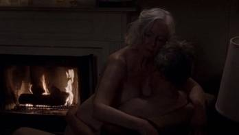 Sex scene with an old American celebrity Jane Alexander