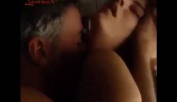 Dad and daughter RARE short incest movie